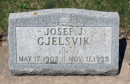 GJELSVIK, JOSEF F. - Palo Alto County, Iowa   JOSEF F. GJELSVIK