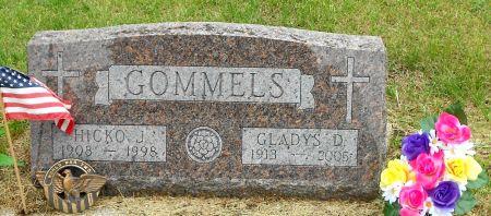SAMPSON GOMMELS, GLADYS DELLA - Palo Alto County, Iowa   GLADYS DELLA SAMPSON GOMMELS