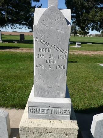 GRAETTINGER, B - Palo Alto County, Iowa   B GRAETTINGER