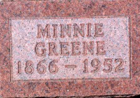 GREEN, MINNIE - Palo Alto County, Iowa | MINNIE GREEN