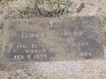 GUSLAND, ELDON - Palo Alto County, Iowa | ELDON GUSLAND