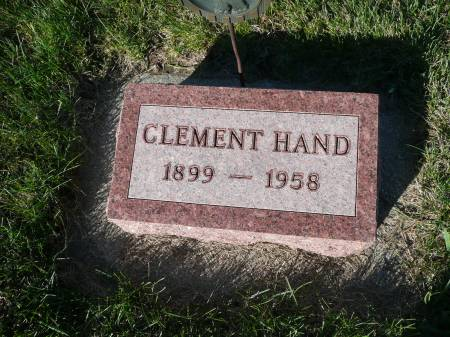 HAND, CLEMENT - Palo Alto County, Iowa | CLEMENT HAND