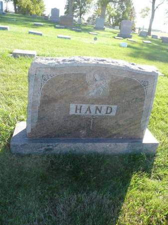 HAND, FAMILY - Palo Alto County, Iowa | FAMILY HAND
