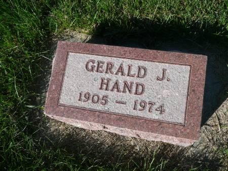 HAND, GERALD J - Palo Alto County, Iowa | GERALD J HAND