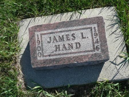 HAND, JAMES L - Palo Alto County, Iowa | JAMES L HAND