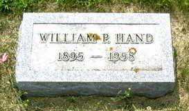 HAND, WILLAIM P. - Palo Alto County, Iowa | WILLAIM P. HAND
