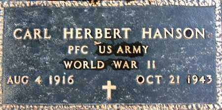 HANSON, CARL HERBERT - Palo Alto County, Iowa | CARL HERBERT HANSON