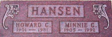 HANSEN, HOWARD - Palo Alto County, Iowa | HOWARD HANSEN