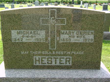 HESTER, MARY - Palo Alto County, Iowa | MARY HESTER