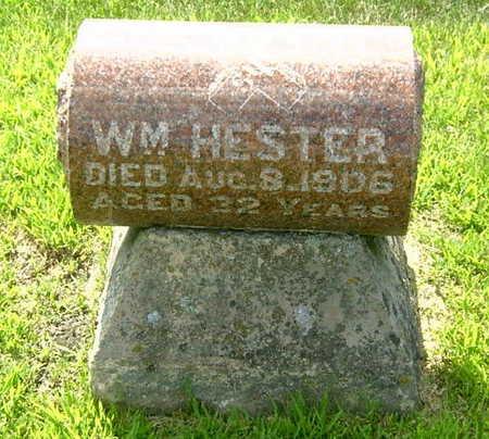 HESTER, WILLIAM - Palo Alto County, Iowa | WILLIAM HESTER