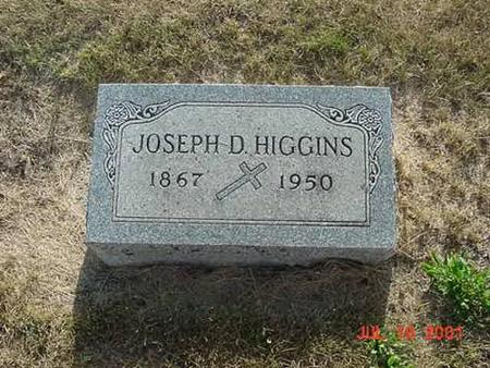 HIGGINS, JOSEPH D - Palo Alto County, Iowa | JOSEPH D HIGGINS