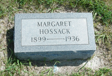 HOSSACK, MARGARET - Palo Alto County, Iowa | MARGARET HOSSACK