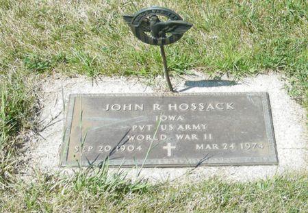 HOSSACK, (JOHN) RAYMOND - Palo Alto County, Iowa | (JOHN) RAYMOND HOSSACK