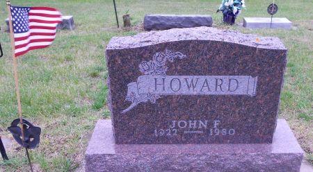 HOWARD, JOHN FRANCIS - Palo Alto County, Iowa   JOHN FRANCIS HOWARD