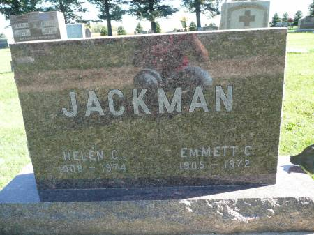 JACKMAN, EMMETT C - Palo Alto County, Iowa | EMMETT C JACKMAN