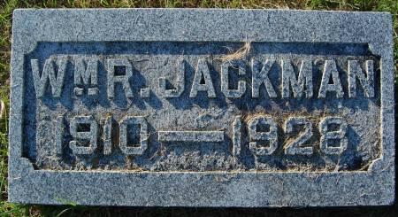 JACKMAN, WM. R. - Palo Alto County, Iowa | WM. R. JACKMAN