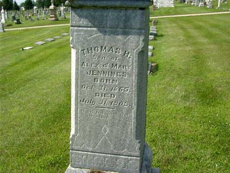 JENNINGS, THOMAS H. - Palo Alto County, Iowa | THOMAS H. JENNINGS