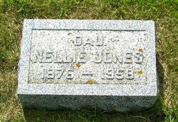 JONES, NELLIE - Palo Alto County, Iowa | NELLIE JONES