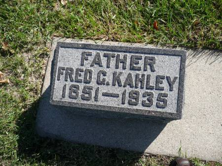 KAHLEY, FRED - Palo Alto County, Iowa | FRED KAHLEY