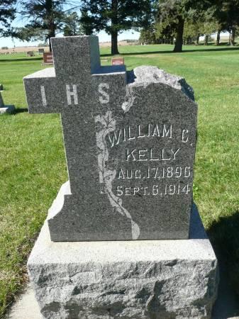 KELLY, WILLIAM C - Palo Alto County, Iowa   WILLIAM C KELLY