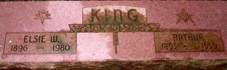 KING, ART - Palo Alto County, Iowa | ART KING