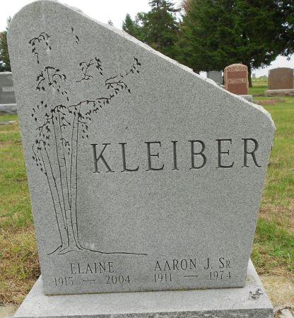 HOLDREN KLEIBER, ELAINE MILDRED - Palo Alto County, Iowa | ELAINE MILDRED HOLDREN KLEIBER