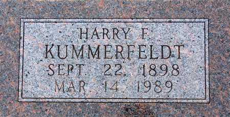 KUMMERFELDT, HARRY - Palo Alto County, Iowa   HARRY KUMMERFELDT