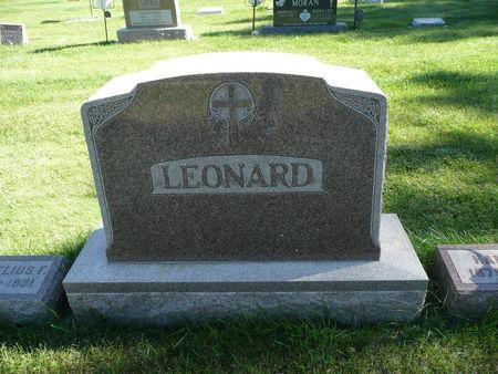 LEONARD, FAMILY - Palo Alto County, Iowa | FAMILY LEONARD
