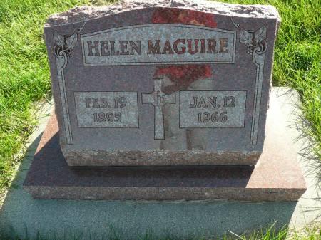 MAGUIRE, HELEN - Palo Alto County, Iowa   HELEN MAGUIRE