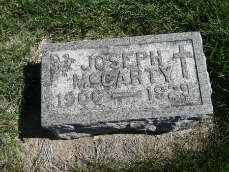 MCCARTY, JOSEPH - Palo Alto County, Iowa | JOSEPH MCCARTY
