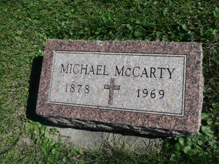 MCCARTY, MICHAEL - Palo Alto County, Iowa   MICHAEL MCCARTY