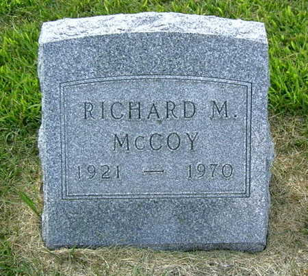 MCCOY, RICHARD M. - Palo Alto County, Iowa | RICHARD M. MCCOY