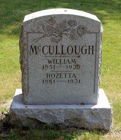 MCCULLOUGH, ROZETTA - Palo Alto County, Iowa | ROZETTA MCCULLOUGH