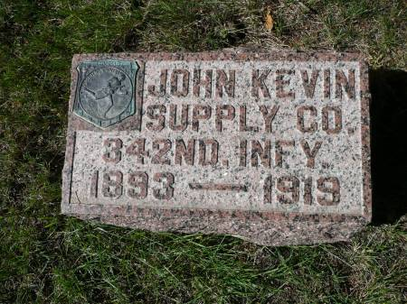 MCDONALD, JOHN KEVIN - Palo Alto County, Iowa   JOHN KEVIN MCDONALD