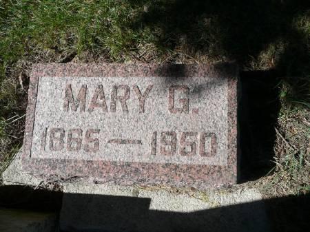 MCDONALD, MARY G - Palo Alto County, Iowa | MARY G MCDONALD