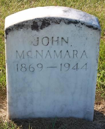 MCNAMARA, JOHN - Palo Alto County, Iowa | JOHN MCNAMARA