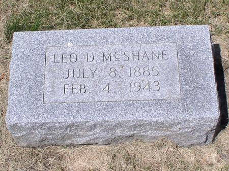 MCSHANE, LEO D - Palo Alto County, Iowa | LEO D MCSHANE