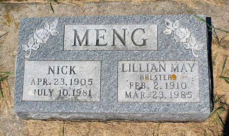 MENG, LILLIAN MAY - Palo Alto County, Iowa | LILLIAN MAY MENG