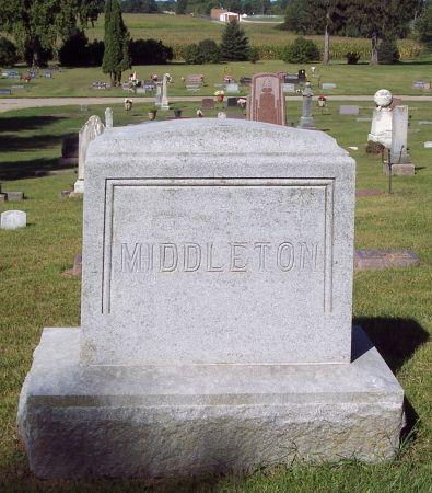 MIDDLETON, FAMILY MEMORIAL - Palo Alto County, Iowa | FAMILY MEMORIAL MIDDLETON