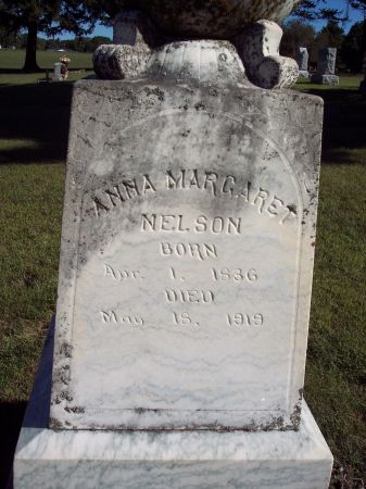 NELSON, ANNA MARGARET - Palo Alto County, Iowa | ANNA MARGARET NELSON