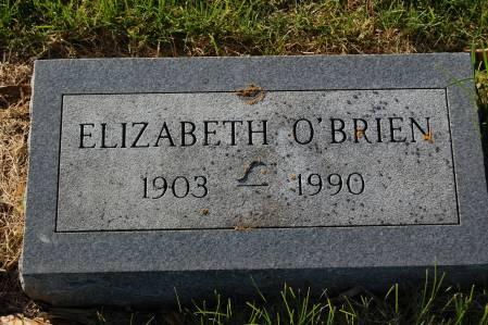 EVANS O'BRIEN, ELIZABETH - Palo Alto County, Iowa | ELIZABETH EVANS O'BRIEN