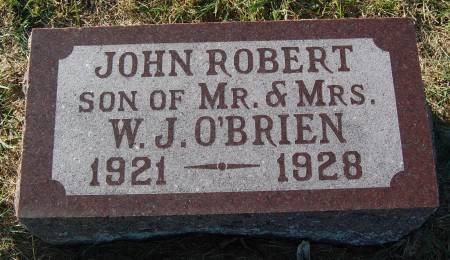 O'BRIEN, JOHN ROBERT - Palo Alto County, Iowa | JOHN ROBERT O'BRIEN