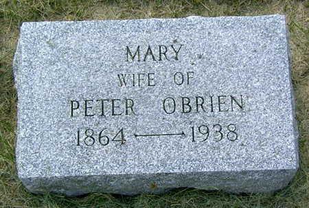 MCCOY O'BRIEN, MARY - Palo Alto County, Iowa | MARY MCCOY O'BRIEN
