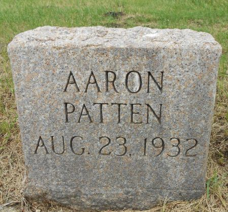 PATTEN, AARON - Palo Alto County, Iowa | AARON PATTEN
