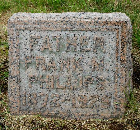 PHILLIPS, FRANK M - Palo Alto County, Iowa | FRANK M PHILLIPS
