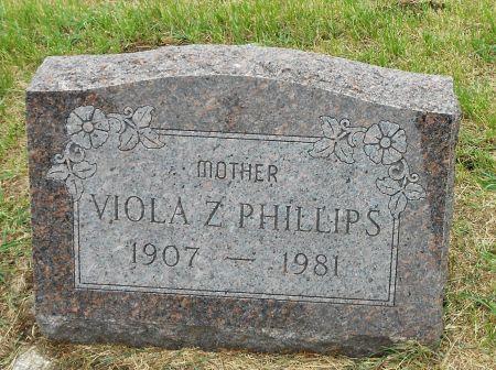 PHILLIPS, VIOLA ZOLA - Palo Alto County, Iowa | VIOLA ZOLA PHILLIPS