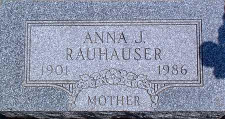 RAUHAUSER, ANNA - Palo Alto County, Iowa | ANNA RAUHAUSER
