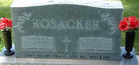ROSACKER, MARVIN - Palo Alto County, Iowa   MARVIN ROSACKER