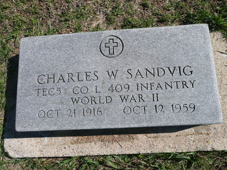 SANDVIG, CHARLES - Palo Alto County, Iowa | CHARLES SANDVIG