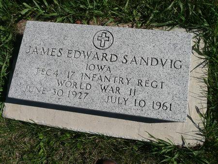 SANDVIG, JAMES - Palo Alto County, Iowa   JAMES SANDVIG